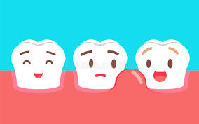 Swollen gums are not normal or healthy.